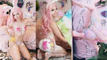 Belle Delphine Onlyfans Ass Painting Video Leaked