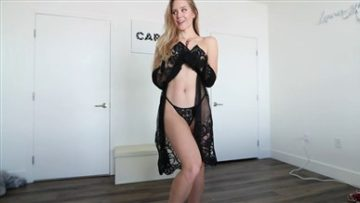 Caroline Zalog Lingerie Try On Nude Video Leaked