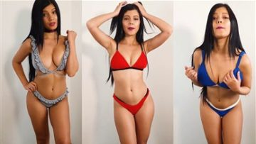 Marta María Santos Bikni Try-On Nude Video Leaked