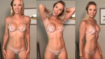 Vicky Stark Micro Bikini Try On Nude Video Leaked