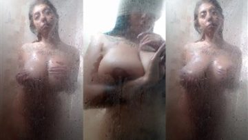Miaumiloucb Onlyfans Come take a shower with me Babe Porn Video