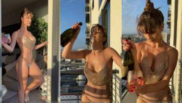 Amanda Cerny Leaked Nude Onlyfans New year Celebration Video