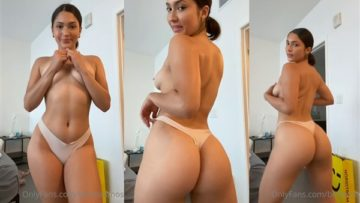 Bella Ramos Nude Onlyfans Teasing Video Leaked