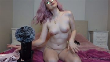 Provocative Char Nude Lingerie Haul ASMR Video