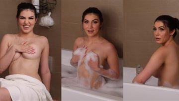 Mikaela Pascal Nude Bathtub Video Leaked