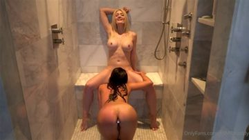 ASMR Maddy Nude Fucking in Shower Lesbian Porn Video Leaked