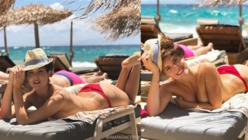Amanda Cerny Topless Beach Photos Leaked