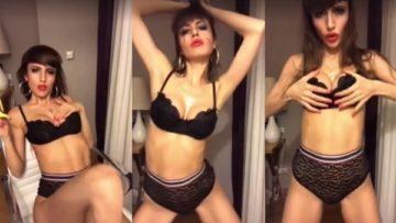 ArianaRealTV Nude Lingerie Teasing Video Leaked