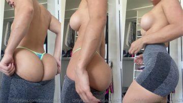 Bru Luccas Nude Try On Nipple Slip Video Leaked