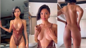 Chanel Uzi Nude Lingerie Get Out Video Leaked