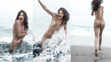 Kendall Jenner Nude Beach Photoshoot For Magazine Leaked