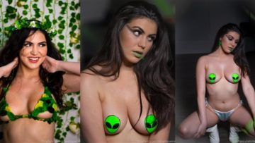 Mikaela Pascal Nude May Month Extras Photoshoot Leaked