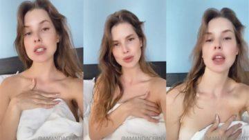 Amanda Cerny Nude Morning Teasing Video Leaked
