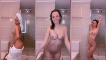 ArianaRealTV Nude After Shower Teasing Leaked Video