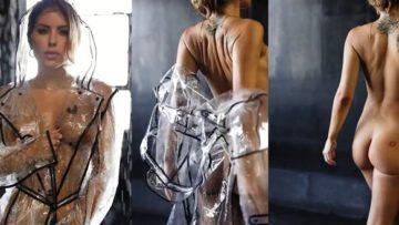 Brittney Palmer Nude Teasing in Raincoat Video Leaked
