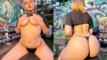 SavaSchultz Onlyfans Black Thong Video Leaked