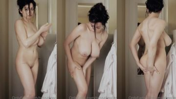 Tessa Fowler Nude After Bath Video Leaked
