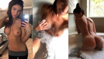 Carlie Jo Nude Bathtub Teasing Video Leaked