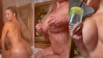 Demi Rose Nude Wet Teasing Video Leaked