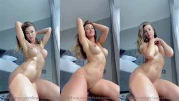 Eliza Rose Watson Nude Ready For Photoshoot Video Leaked