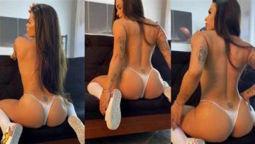 Sophia Carracini Nude White Thong Video Leaked