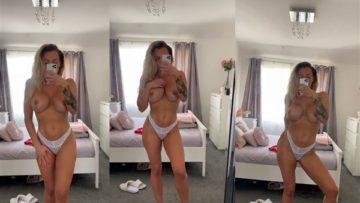Jenna Hoskins Nude Mirror Selfie Video Leaked