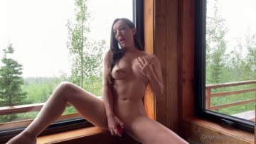 Orenda ASMR Nude Fucking in Hotel Window With My New Toy Porn Video Leaked