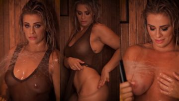 Paige VanZant Nude Shower Video Leaked
