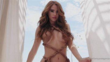 Yanet Garcia Nude Bikini Beach Teasing Video Leaked